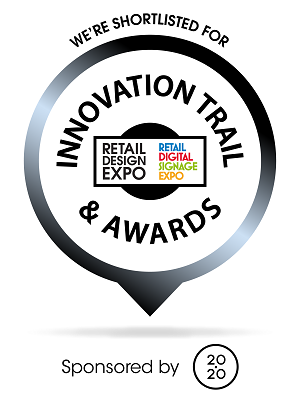 Retail Design Expo 2016 shortlisted logo