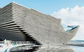 Glazing installation at V&A museum, Dundee - credit: Ross Fraser McLean | Glassolutions